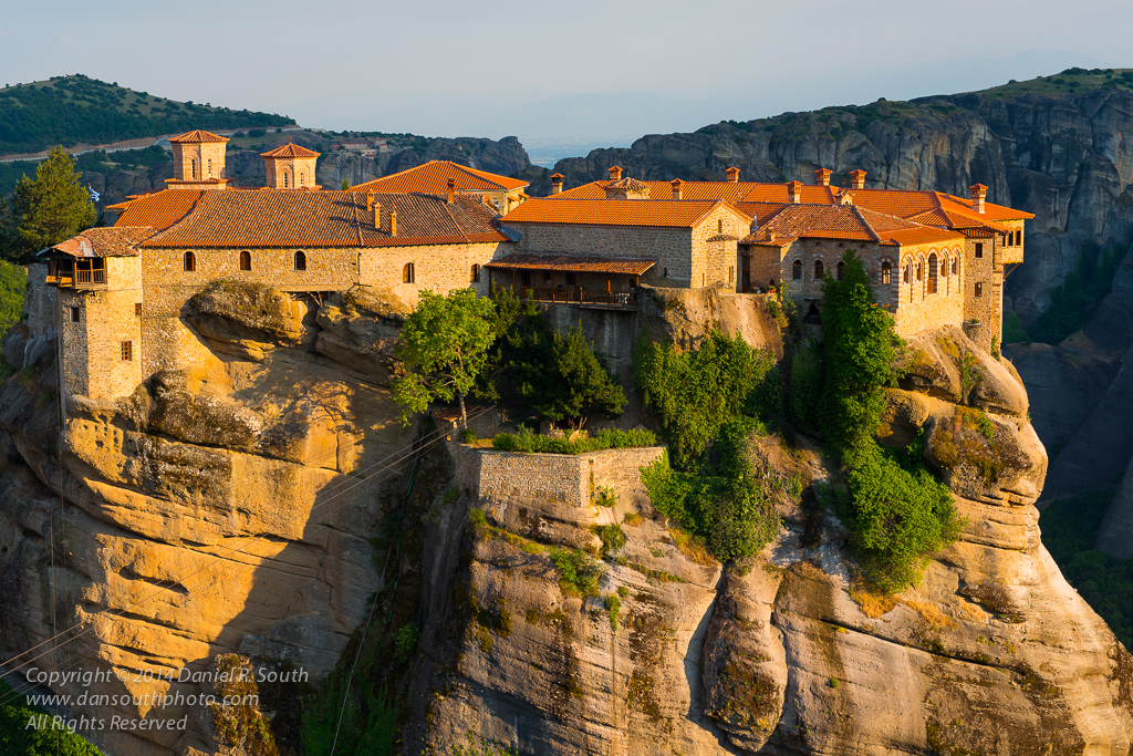 a photo of the Varlaám Monastery at Metéora in greece