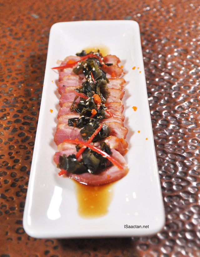 Smoked Duck Wakame