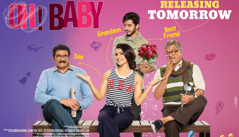 Oh Baby Movie Review : Samantha Akkineni, Naga Shourya | Mickey J Meyer