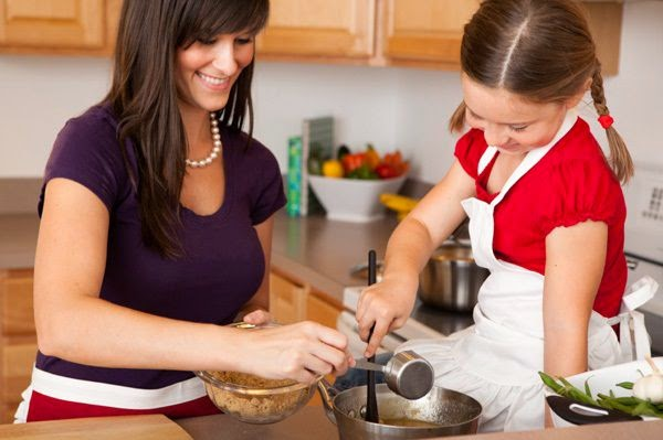 Mom's like Cooking for little ones