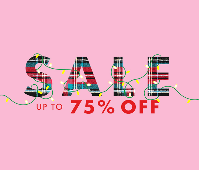 75 percent off monograms