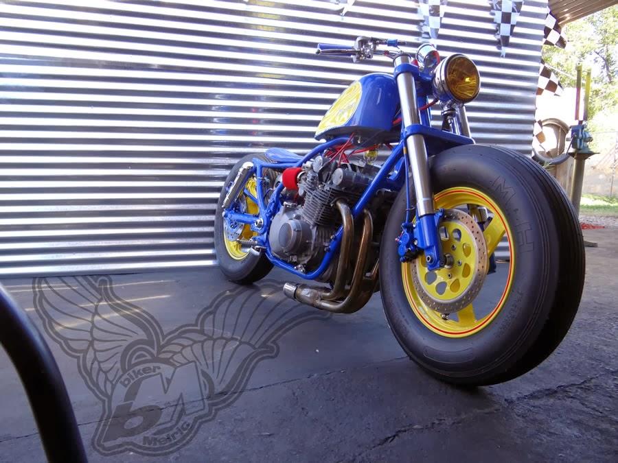 suzuki gs850   hairy canary - bikermetric