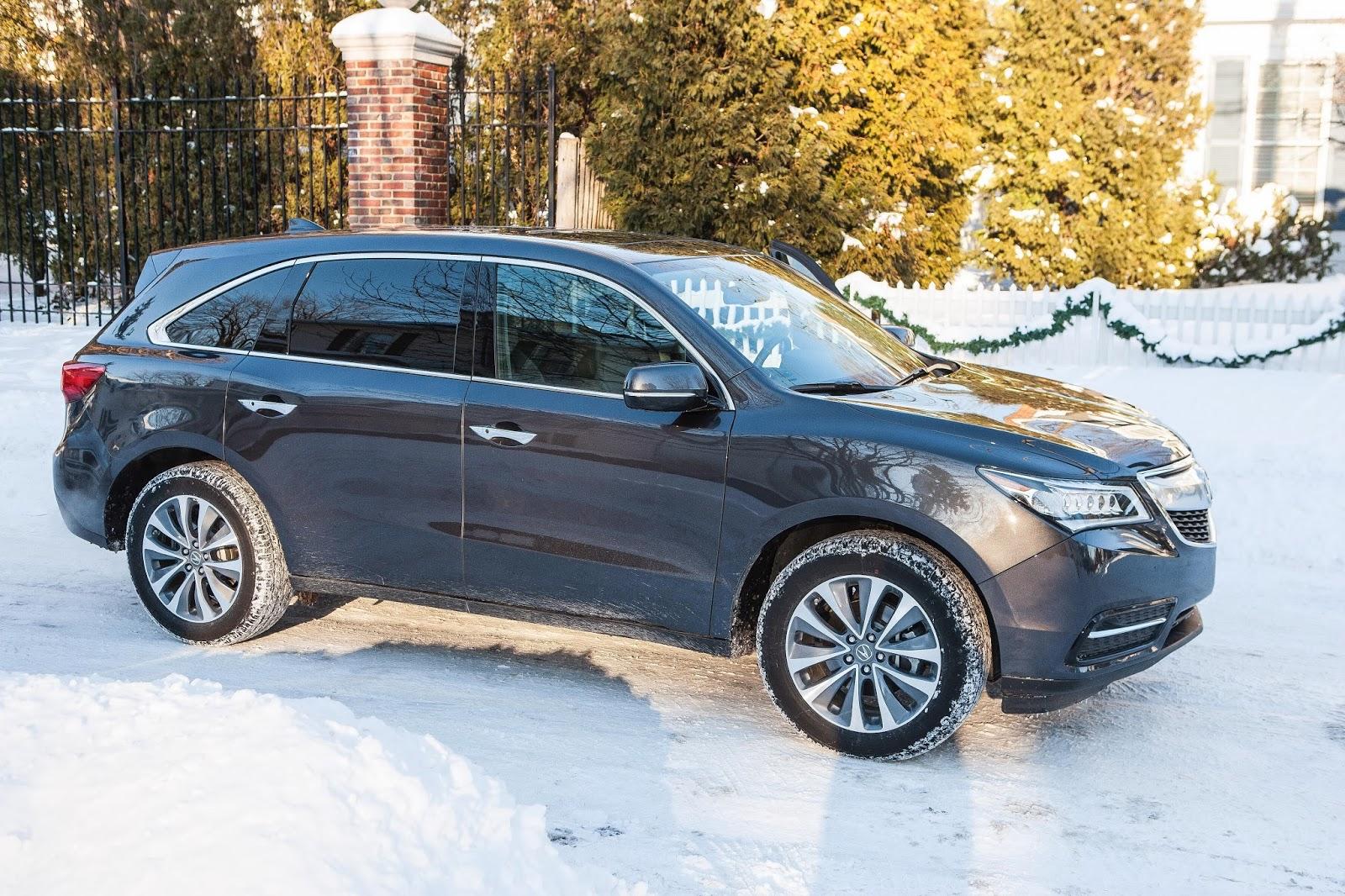 2017 Acura Mdx Tech Entertainment Front Wheel Drive Model