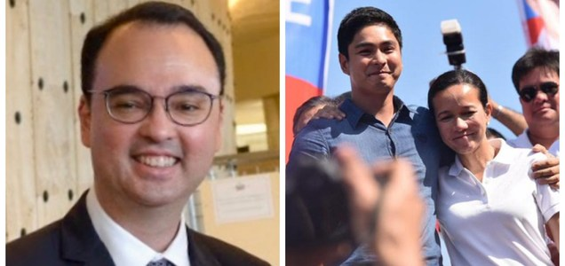 """House Speaker Cayetano to Sen. Poe: """"Pag Chacha ayaw niyong pag usapan pero you feel free to violate Constitution""""   Pinoy Trending"""
