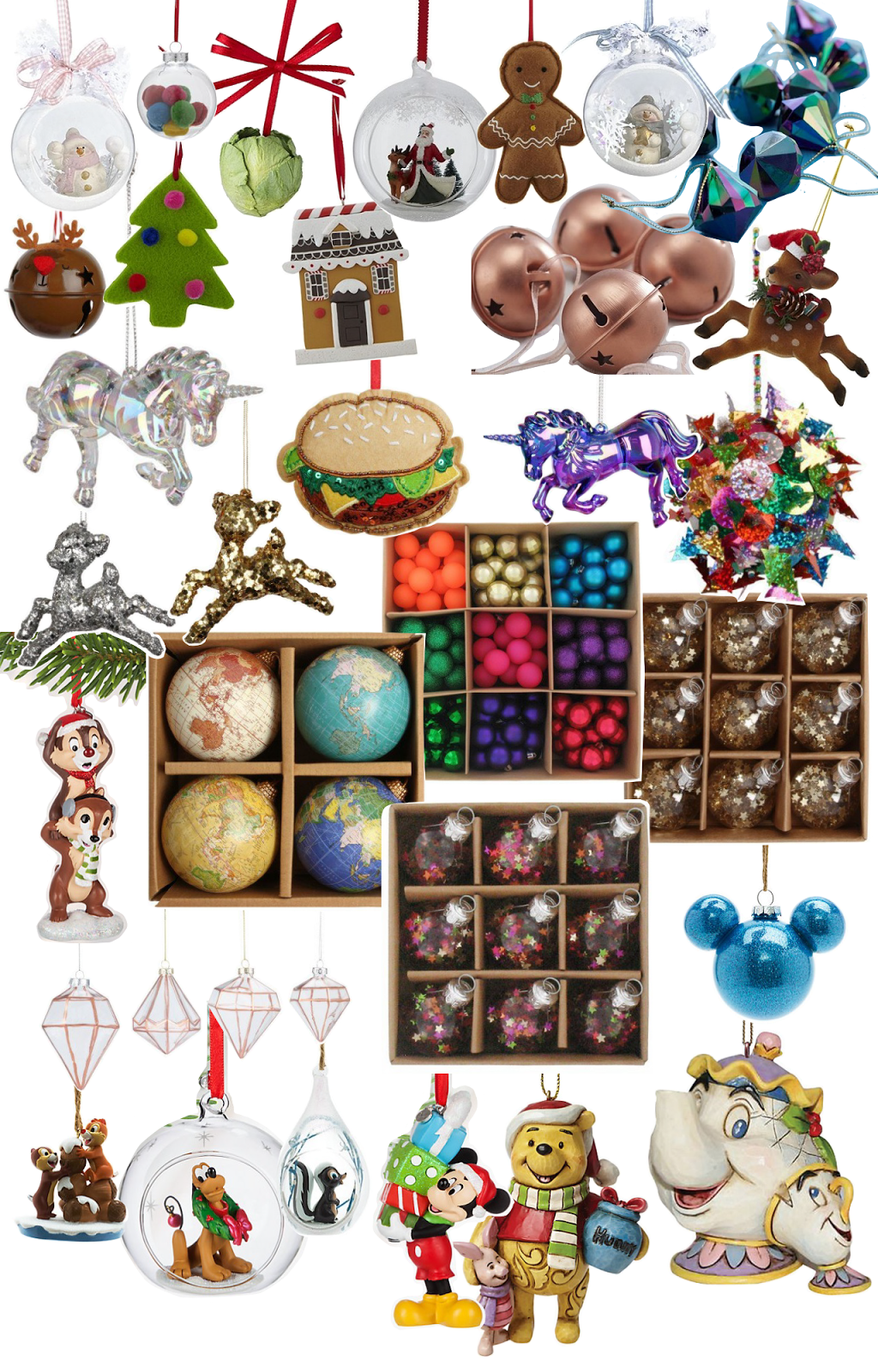 Christmas, Decoration, Wishlist, Paperchase, Disney Store, Tesco Direct,