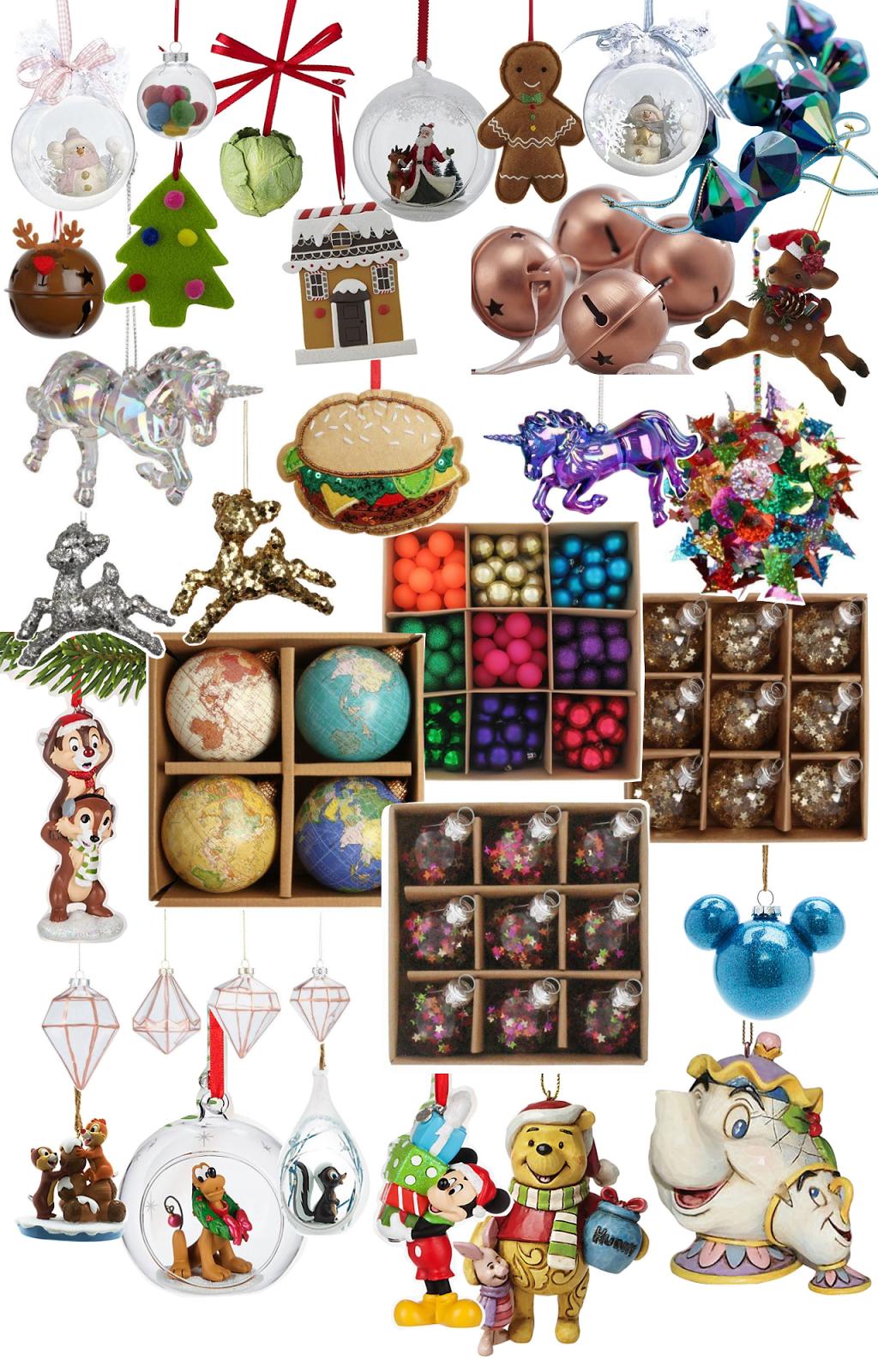 Christmas, Decoration, Wishlist, Paperchase, Disney Store, Tesco Direct,