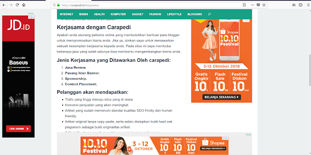 Kumpulan tips blogging