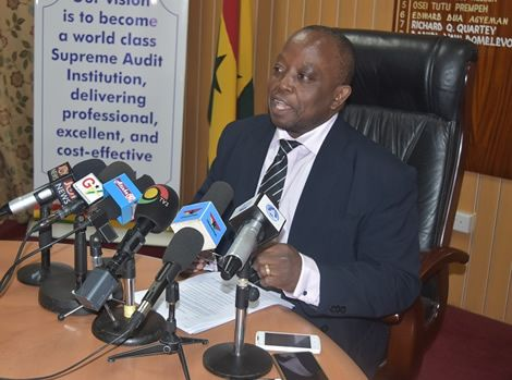 Gov't Overspent Budget By GH¢4.2bn In 2016 - Auditor-General