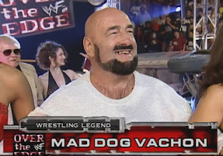 WWF - Over the Edge 1998 Review - Mad Dog Vachon was honoured in a mini Hall of Fame-type ceremony