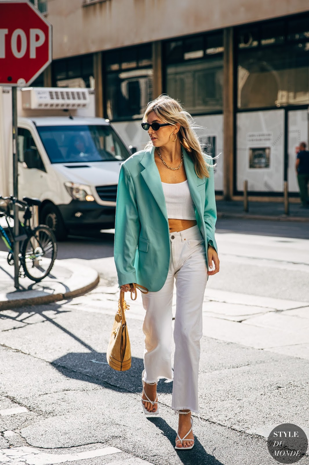 The White Staple Pieces You Can Wear All Summer — Camille Charrière Street Style
