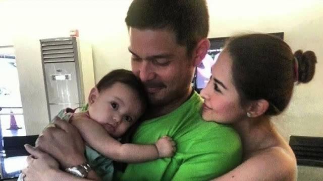 Marian RIvera, Dingdong Dantes, baby Zia