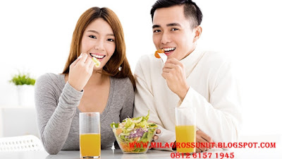 Pola makan sehat membuat tubuh sehat