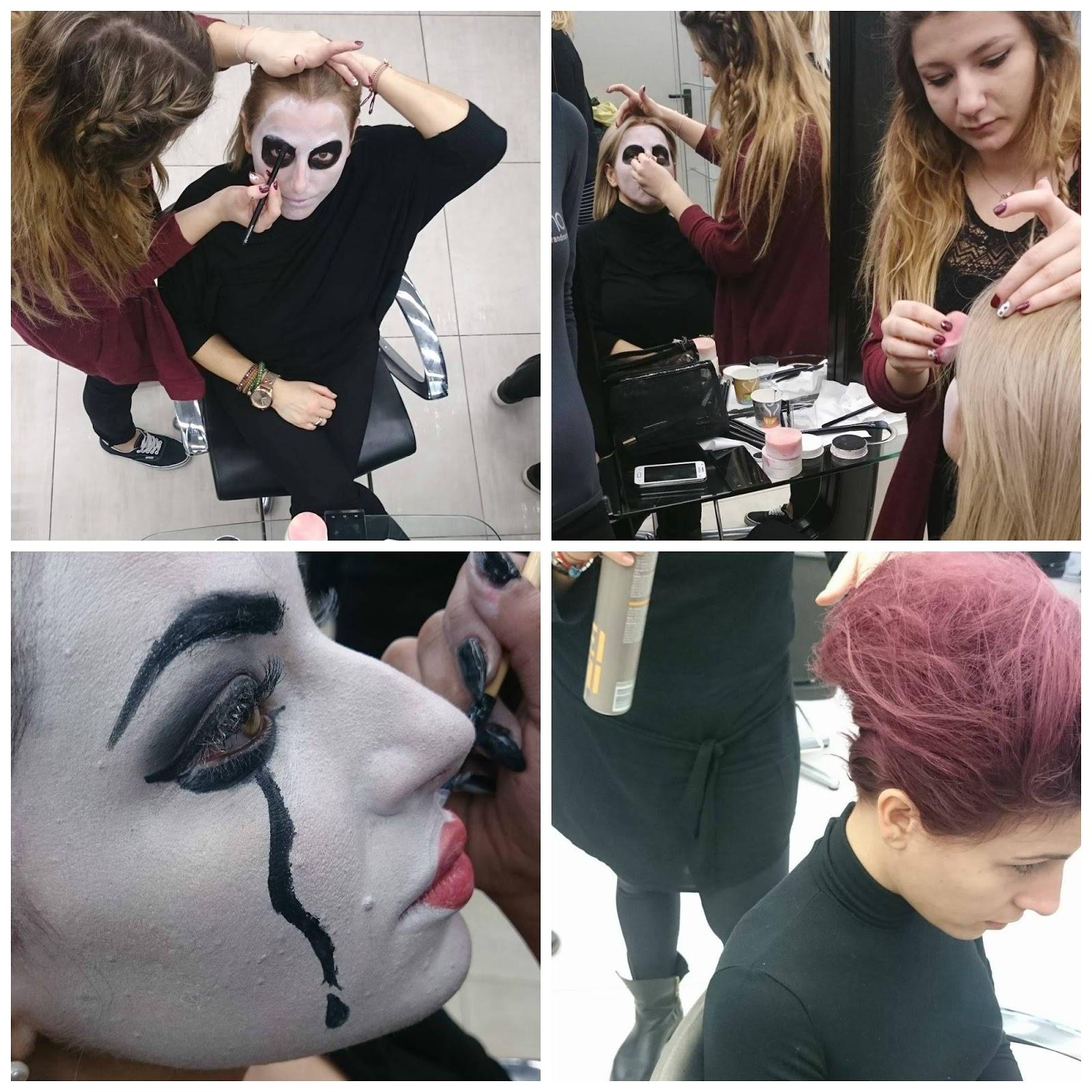 spotlights on the redhead, redhead, model,  blogger, review, pretty, anna keni, anna,2016,trends,carnival, makeup, mua, makeup artists, iek xini, gino hairandmore,gino, iek, students, halloween