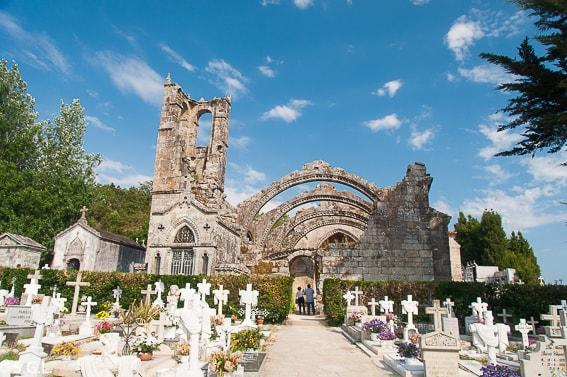 Ruinas de Santa Marina de Cambados. Galicia
