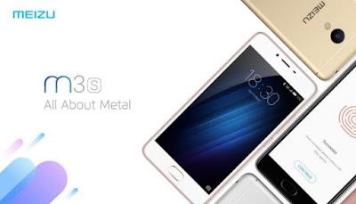 harga dan spesifikasi Meizu M3S