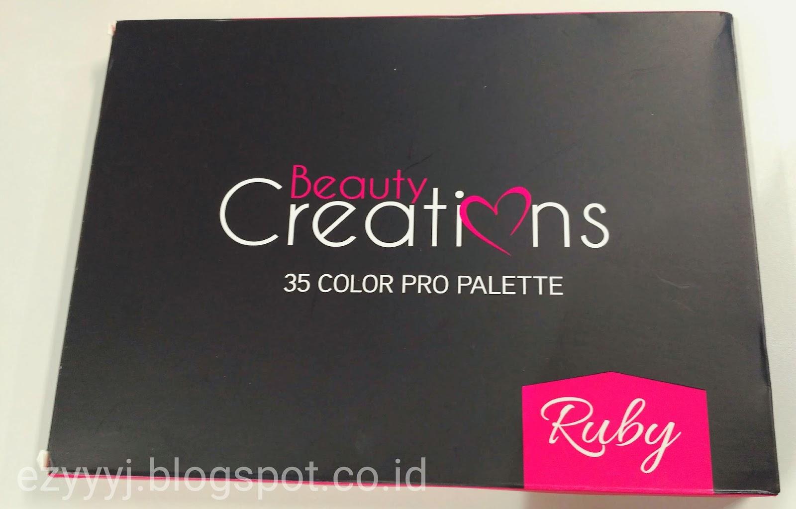 Beauty Creations Ruby 35 Pro Palette Review Between Numbers Cosmetics Ilena I Dont Have Problem With The Packaging Karena Sesungguhnya Cermin Juga Tidak Akan Terlalu Berguna Di Sebesar Ini Dipakai Oleh Mua Pun Biasanya