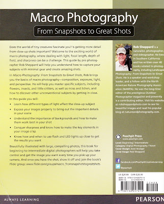 Macro Photography: 'From Snapshots to Great Shots' By Rob Sheppard 2015 (Hard Copy Image)