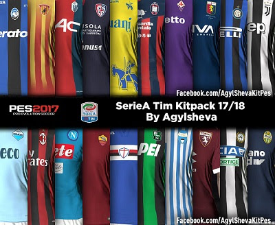 PES 2017 Serie A Kitpack 2017/2018
