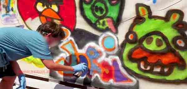Nombre Jordi en Graffiti