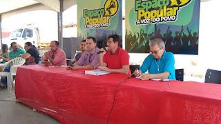 Prefeito Olivânio assina ordens de serviços a serem realizados em Serra dos Brandões, distrito de Picuí.