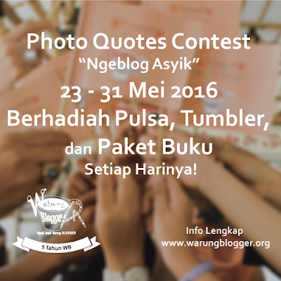 #5TahunWB: Photo Quotes Contest