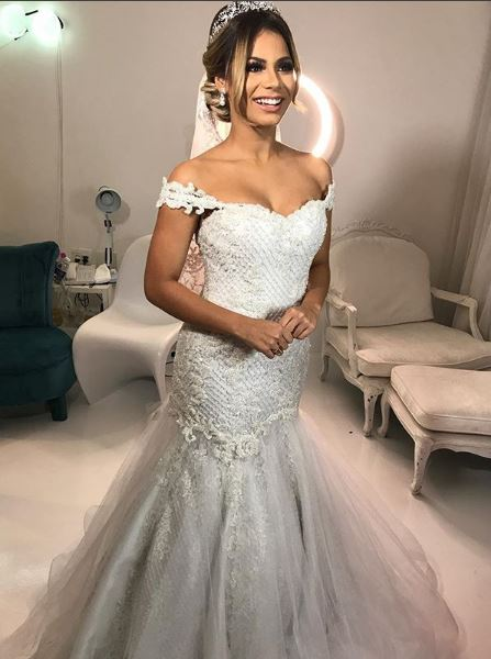 Vestido de noiva da Lexa
