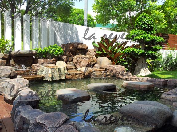 Datuk max desa parkcity for Koi pond quezon city