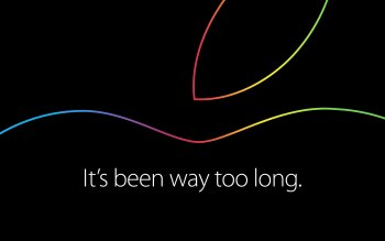 Wallpaper: Apple Event It' is been way too long