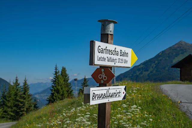 Panoramaweg Gantakopf  Wandern im Montafon 15