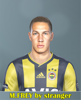 PES 2019 Faces Michael Frey by Stranger