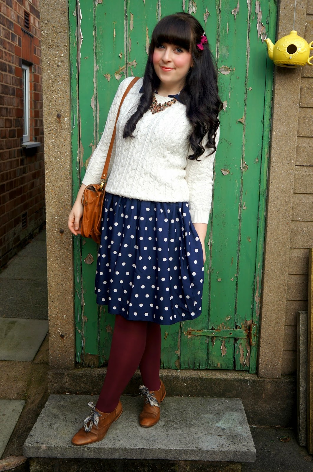 WHAT I THRIFTED #2 :: THE POLKA DOT DRESS
