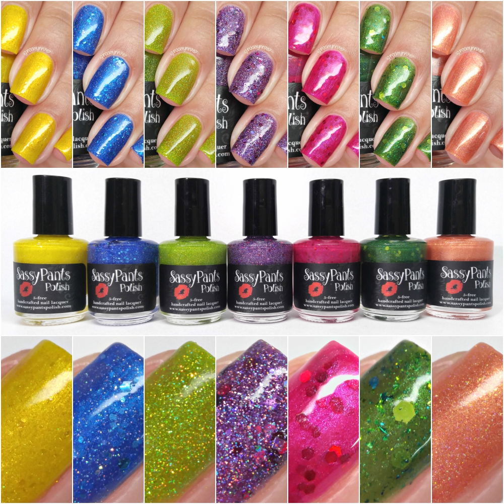 Sassy Pants Polish - Funny Fruit Collection - Manicured & Marvelous