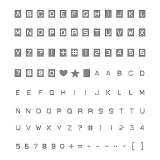 Labeler Alphabet stamp set, Stampin' Up!