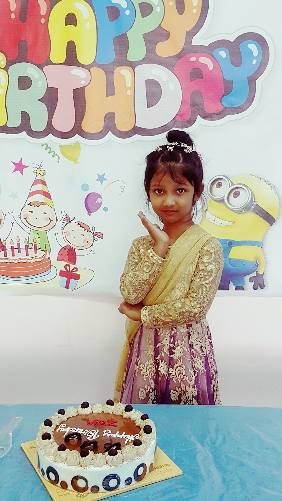 ITHS Uttara PreSchool and Junior Section Playgroup student Zoha