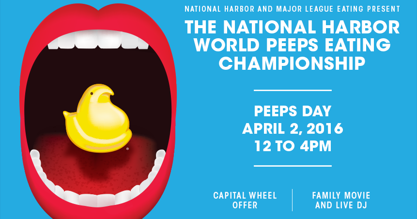 Second Annual National Harbor World PEEPS Eating ...