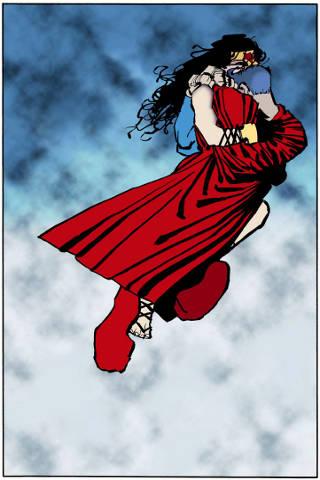 Wonder Woman and Superman in Dark Knight Strikes Again Vol 2