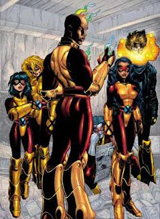 Voila la seconde partie de notre voyages dans l'univers des mutants, en tout cas un voyage vestimentaire^^. Nous allons aujourd'hui nous intéresser aux équipes qui gravitent autour des X-men, voici les séries petites sœurs let's go!!!  Les nouveaux mutants:      X-factor:         X-force/Uncanny X-force:            Generation X:              Et voila fini pour aujourd'hui, la prochaine fois on fera un petit tour vers les versions parallèles des x-men. A bientôt!!!