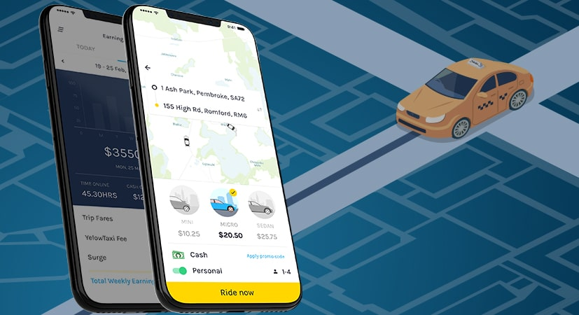 Taxi Booking App Solution - Yelowsoft
