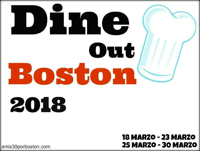 Dine Out Boston Marzo 2018 en A mis 30 por Boston