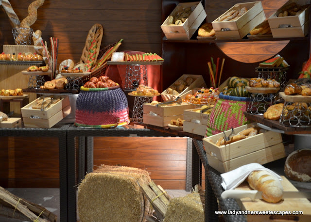 bread at Fairmont Ajman brunch