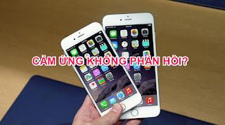 HỎI ĐÁP? - Iphone 6 bị đơ màn hình