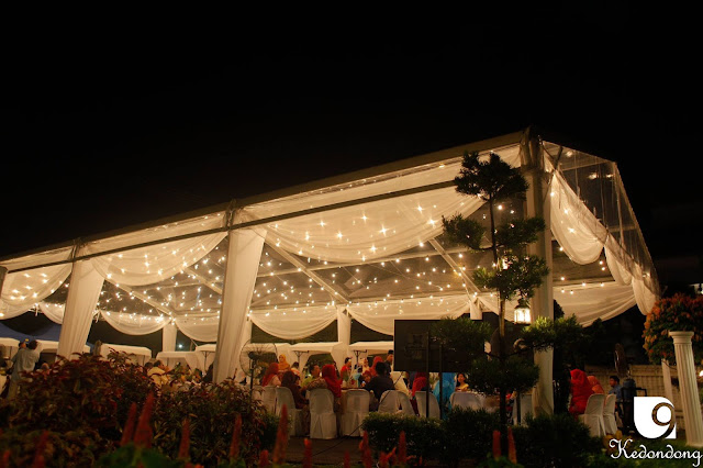 transparent tent wedding venue Malaysia