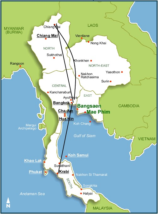 Mieleton Unelma Thaimaan Matka Osa 2 Chiang Rai Krabi