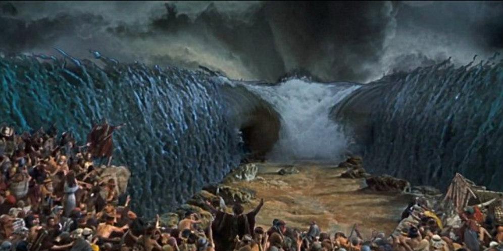 Musa membelah Laut