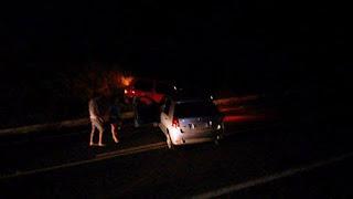 Homem é executado na BR-104 em Nova Floresta; durante espera do IML um acidente é registrado no local