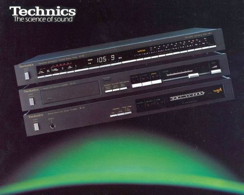 Technics SE-A7 power amplifier.