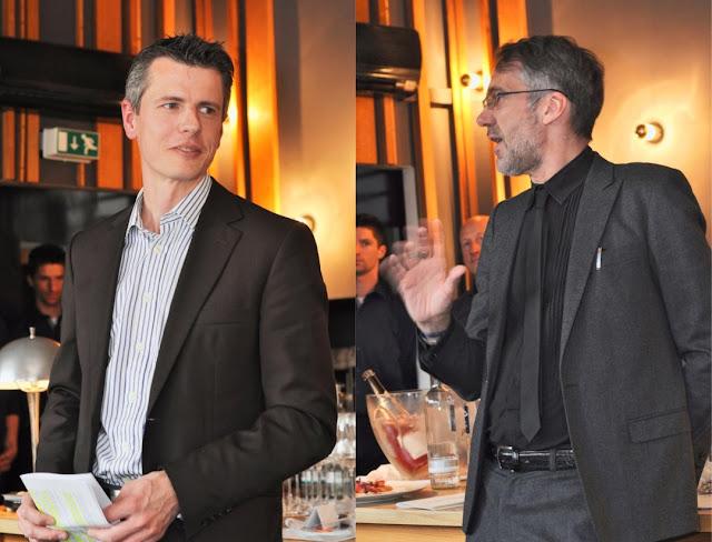 Frank Schönleber und Stuart Pigott