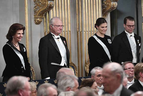 King Carl Gustaf, Queen Silvia, Crown Princess Victoria and Prince Daniel