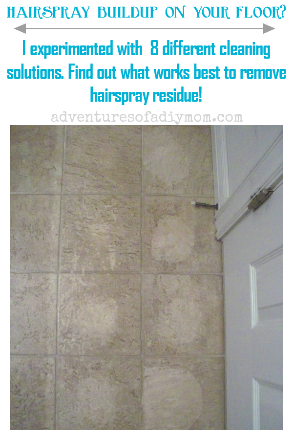 Remove Hairspray Residue From Floor