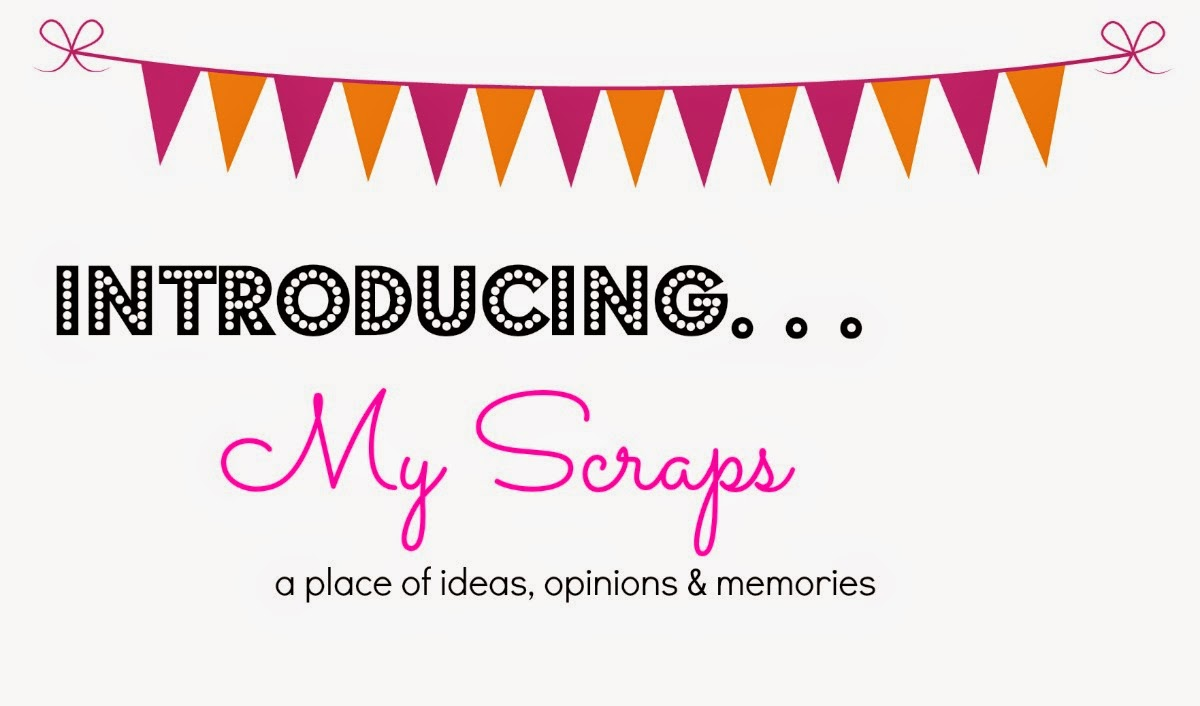 My Scraps | Announcement of new header launch